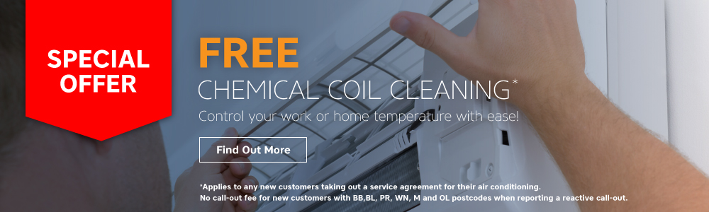 FREE chemical coil cleaning