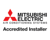 mitsubishi electric air conditioning logo
