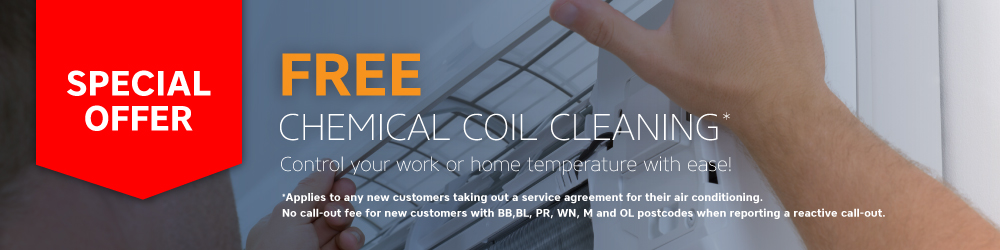 Free Chemical Coil Cleaning Offer