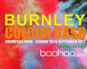 were sponsoring the first ever burnley colour dash feature image