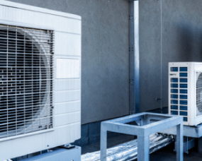 air conditioning units on the roof